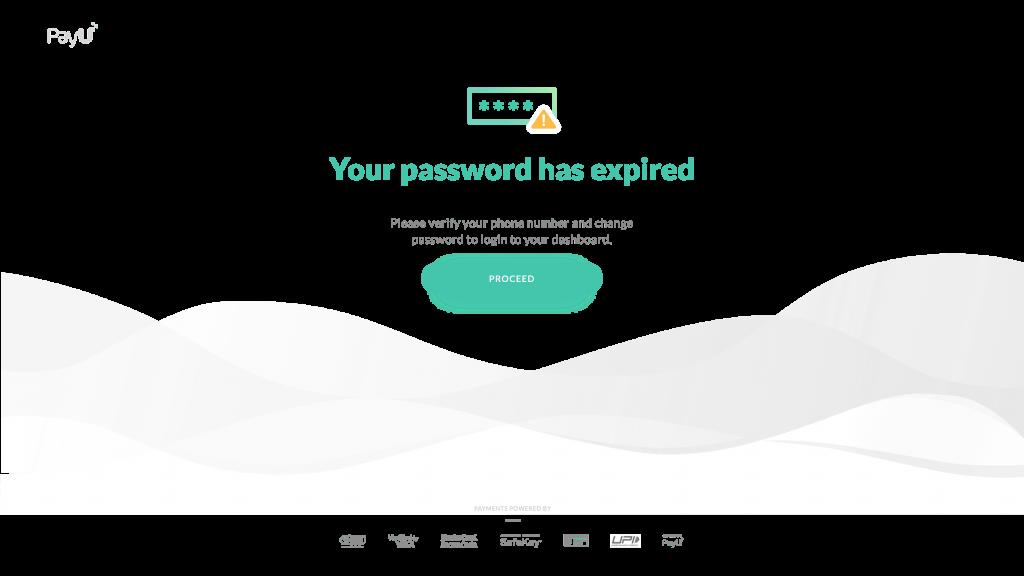 payumoney password reset