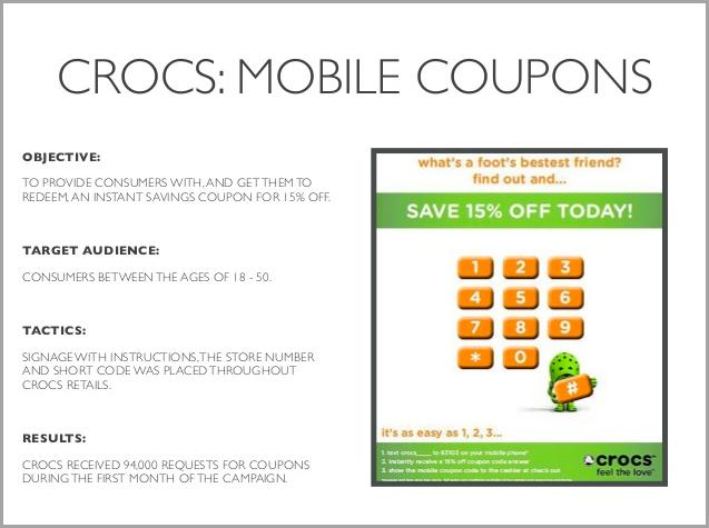 Crocs: Coupon Marketing Strategy