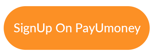 Sign up on PayUmoney