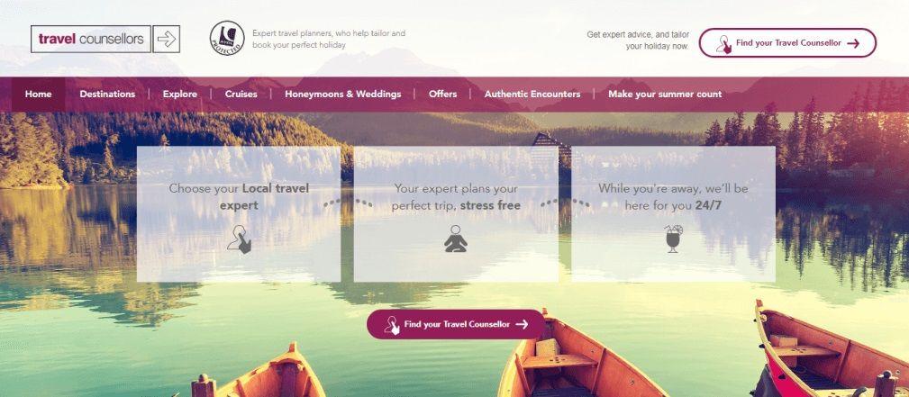 Travel Agent Website